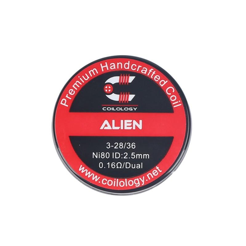 Coilology Ni80 Alien Prebuilt Coil 2.5mm 0.16ohm (2pcs)