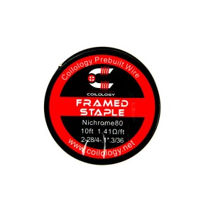 Coilology Ni80 Framed Staple Wire 2*28 (3m)