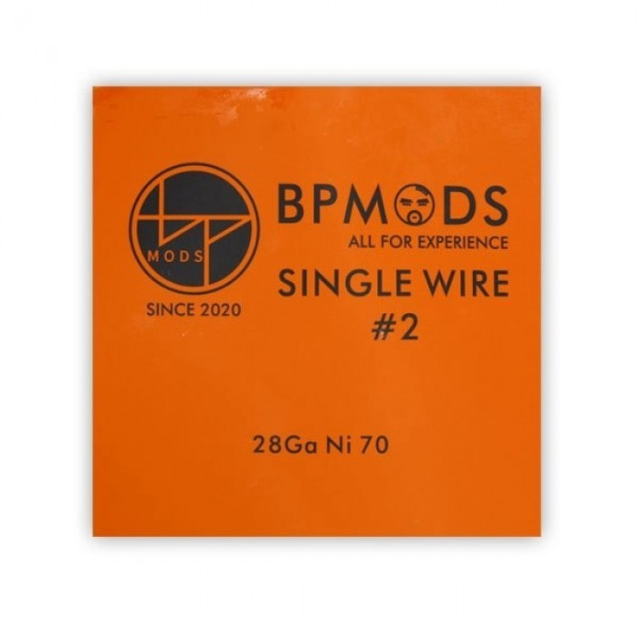 BP Mods Ni70 28GA Wire 5m