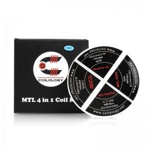 Coilology Ni80 MTL 4 in 1 Wheel Prebuilt Coils 24pcs