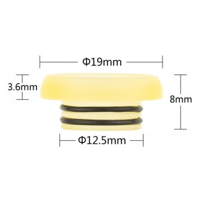 Drip Tip 810 AS244 Yellow