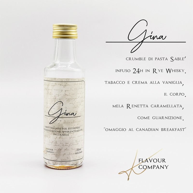 K Flavours Gina 25->100ml