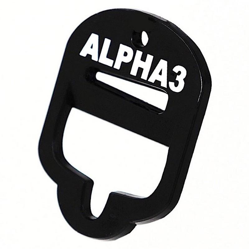 Alpha 3 Bottle Opener