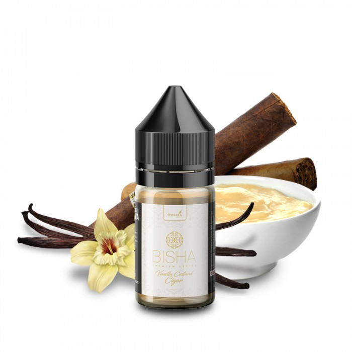 Bisha Vanilla Custard Cigar 10->30ml