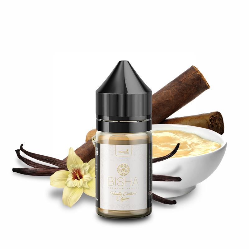 Bisha Vanilla Custard Cigar 10->30ml
