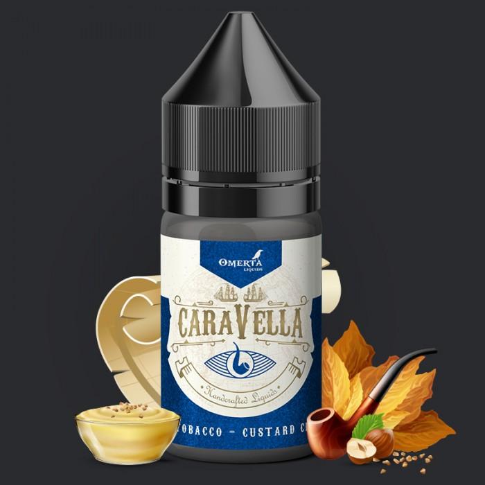 Caravella Pipe Tobacco Custard Cream 10->30ml