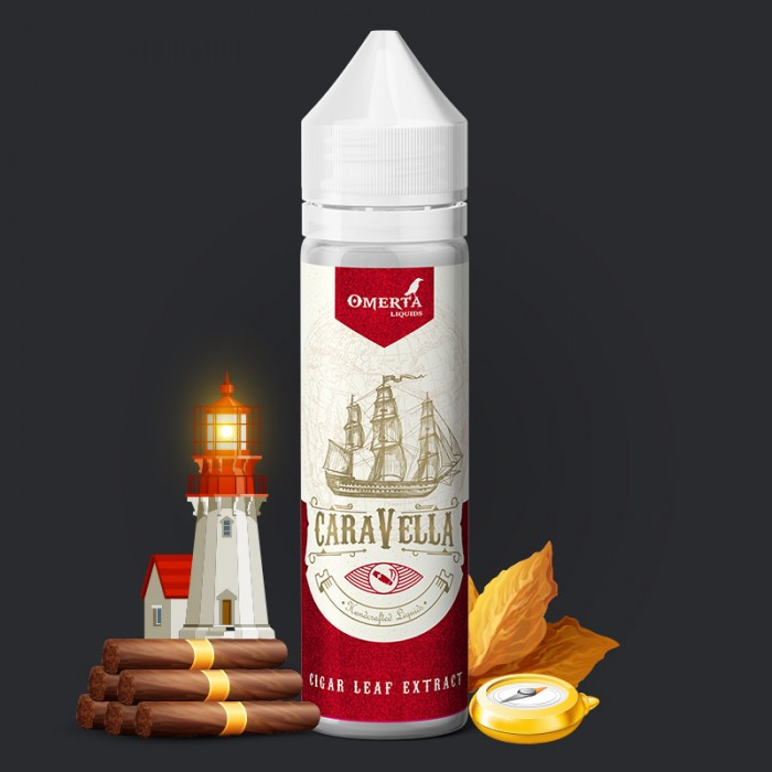 Caravella Cigar Leaf Extract 20->60ml