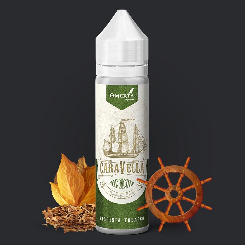 Caravella Virginia Tobacco 20->60ml