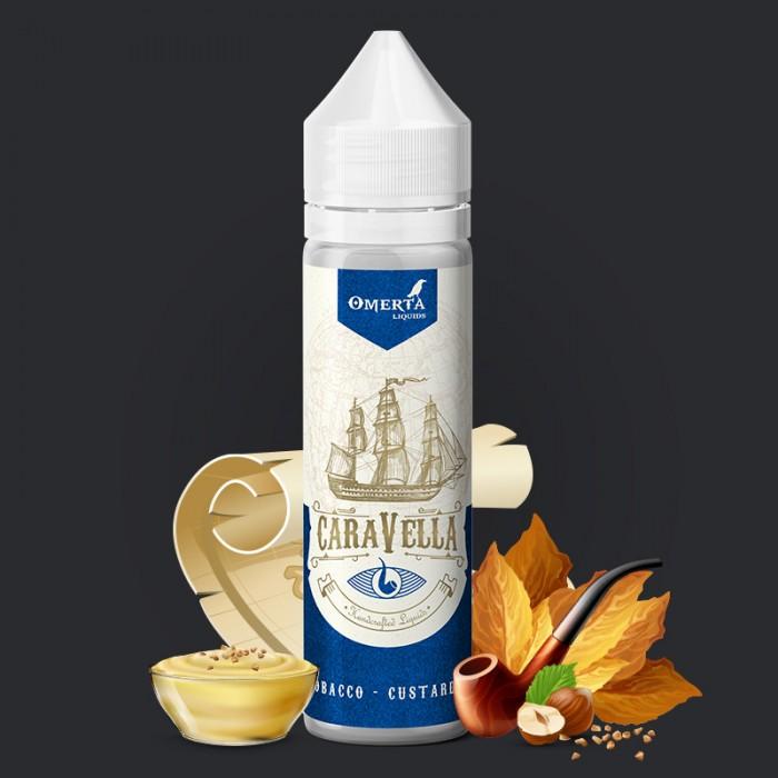 Caravella Pipe Tobacco Custard Cream 20->60ml