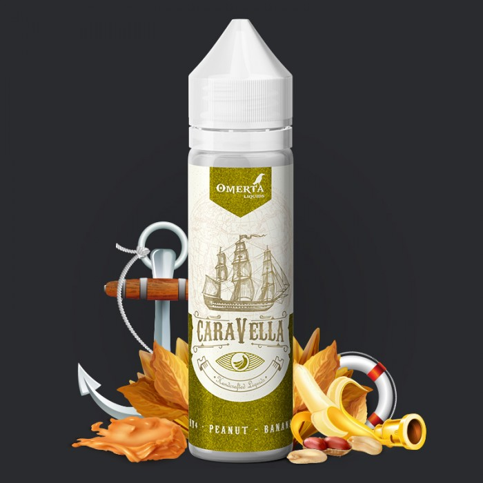 Caravella RY4 Peanut Banana 20->60ml