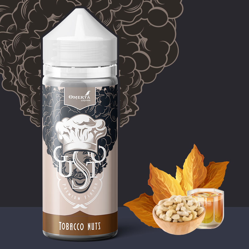 Gusto Tobacco Nuts 30->120ml
