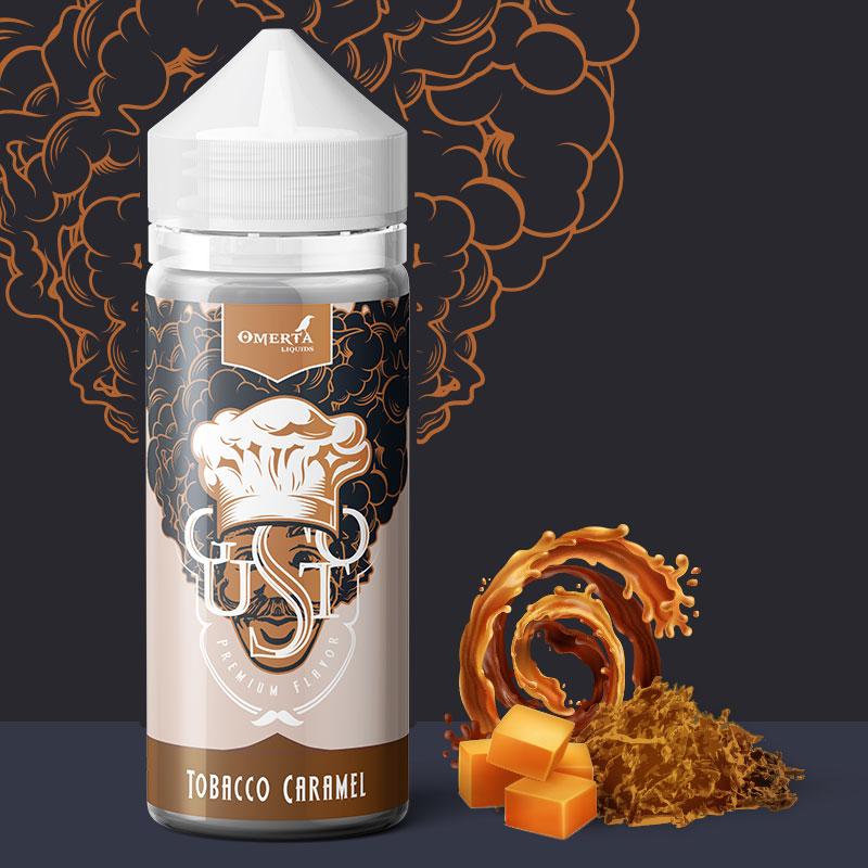 Gusto Tobacco Caramel 30->120ml