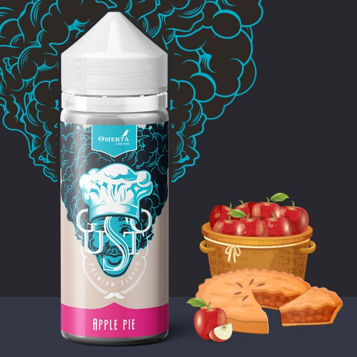 Gusto Apple Pie 30->120ml