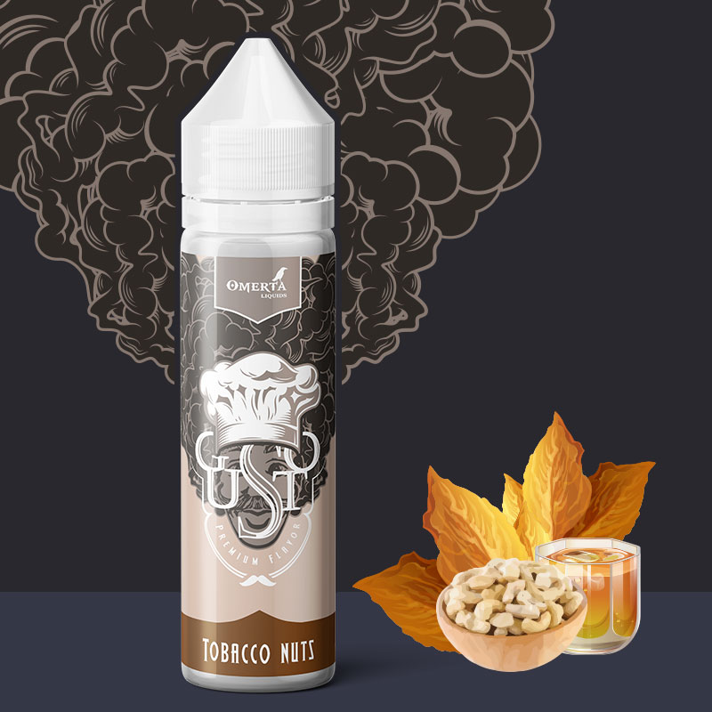 Gusto Tobacco Nuts 20->60ml