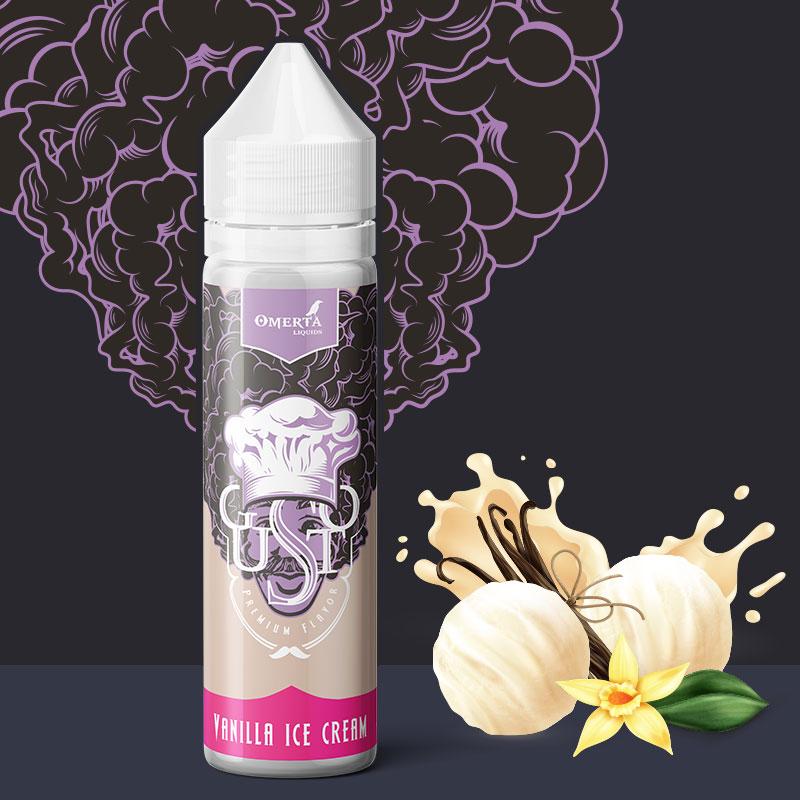 Gusto Vanilla Ice Cream 20->60ml