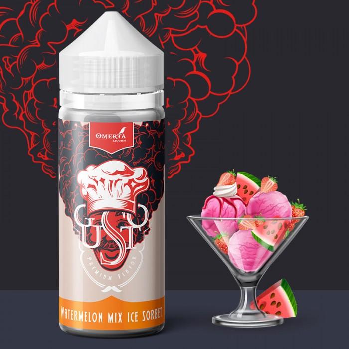 Gusto Watermelon Mix Ice Sorbet 30->120ml