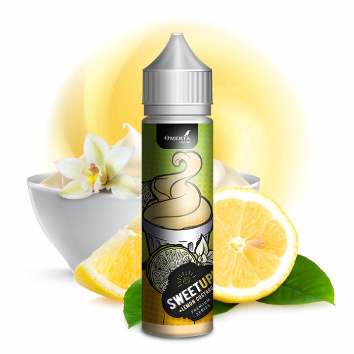 SweetUp Lemon Custard 20ml