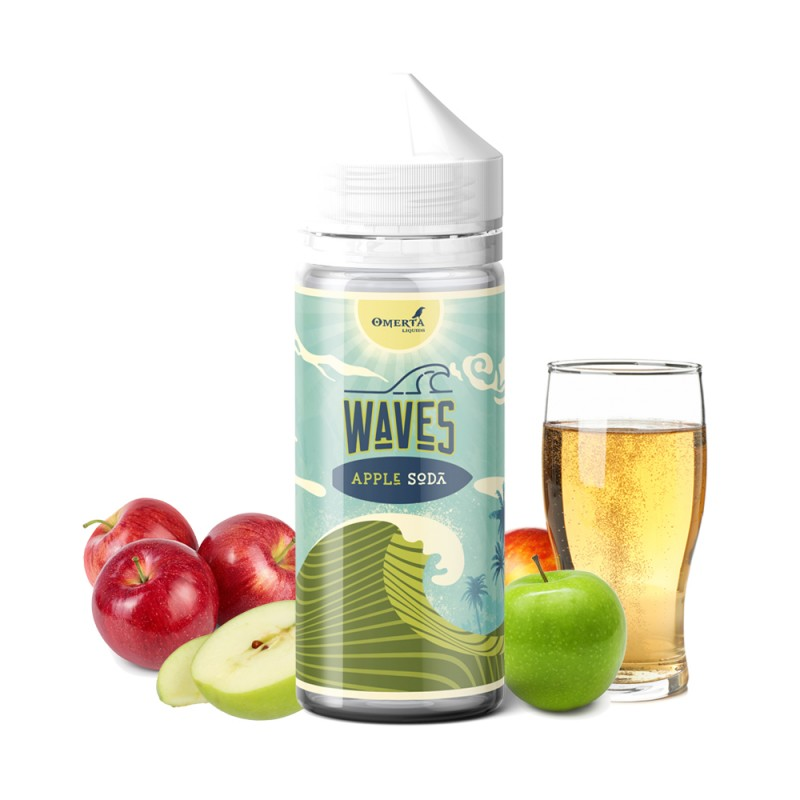 Waves Apple Soda 30->120ml