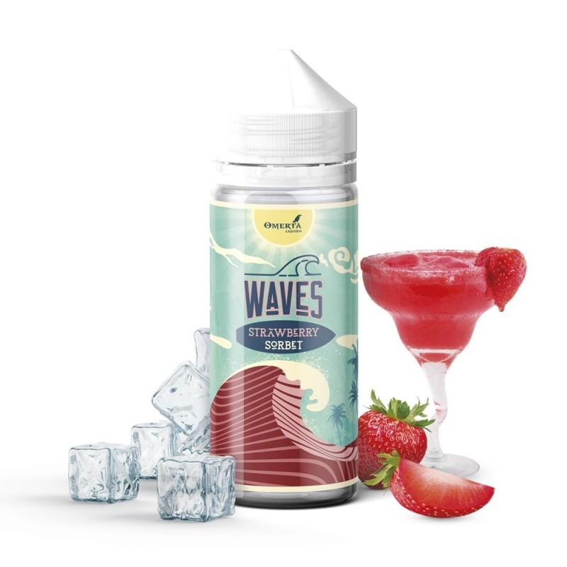 Waves Strawberry Sorbet 30->120ml