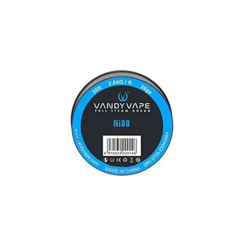 Vandy Vape Ni80 26GA 30ft Wire