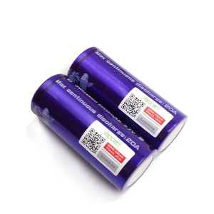 Vapcell 26650 Battery 20A 5000mAh Purple