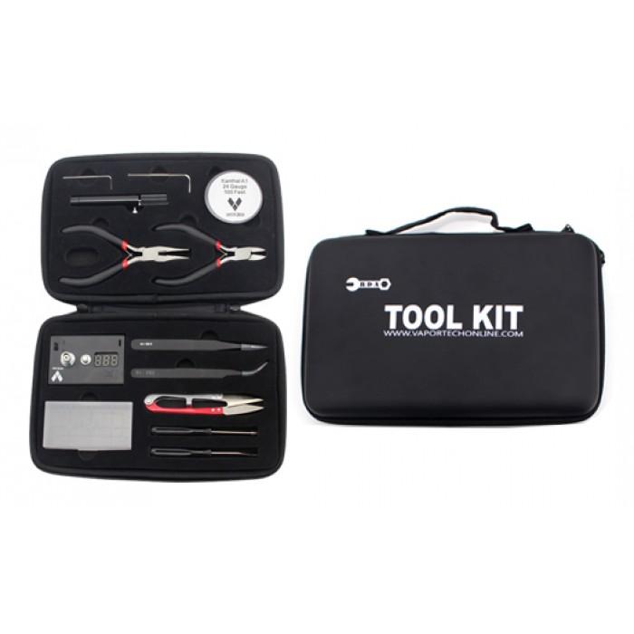 VaporTech RDA Tool Kit with Ohm/Volt meter