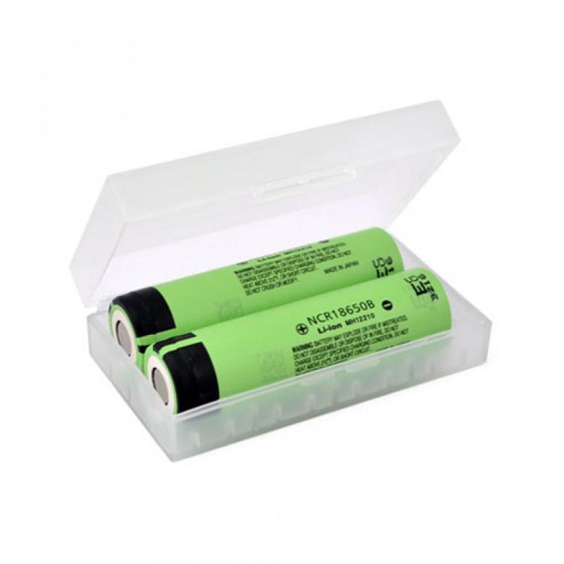 Plastic Battery Case For 18650