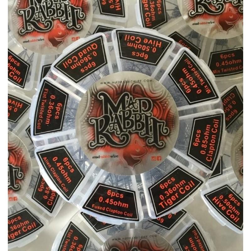 Mad Rabbit Kanthal PreBuilt Coils Wheel